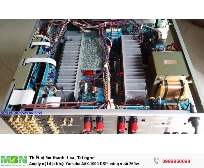 Amply nội địa Nhật Yamaha AVX-1000 DSP, công suất 260w3