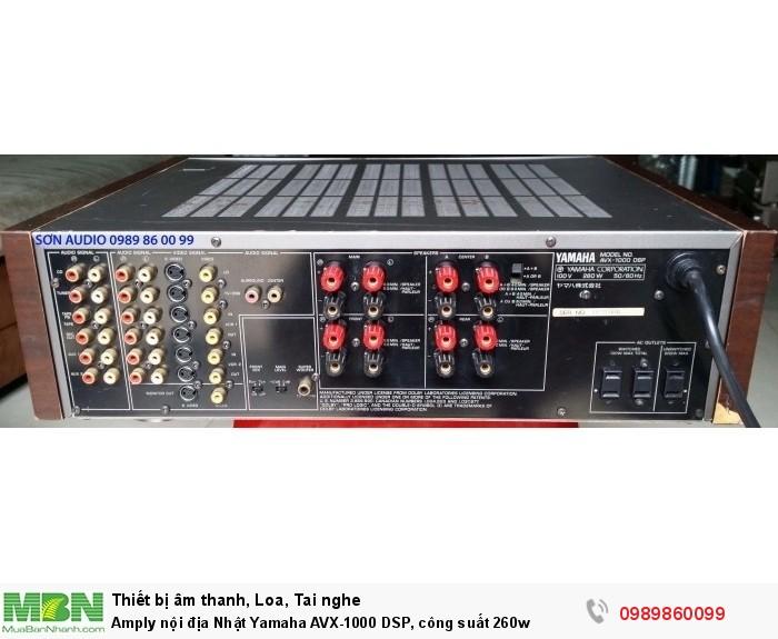 Amply nội địa Nhật Yamaha AVX-1000 DSP, công suất 260w8