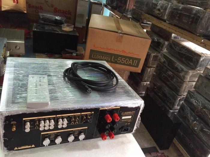 Chuyên Bán ampli Luxman L550AII hàng bải