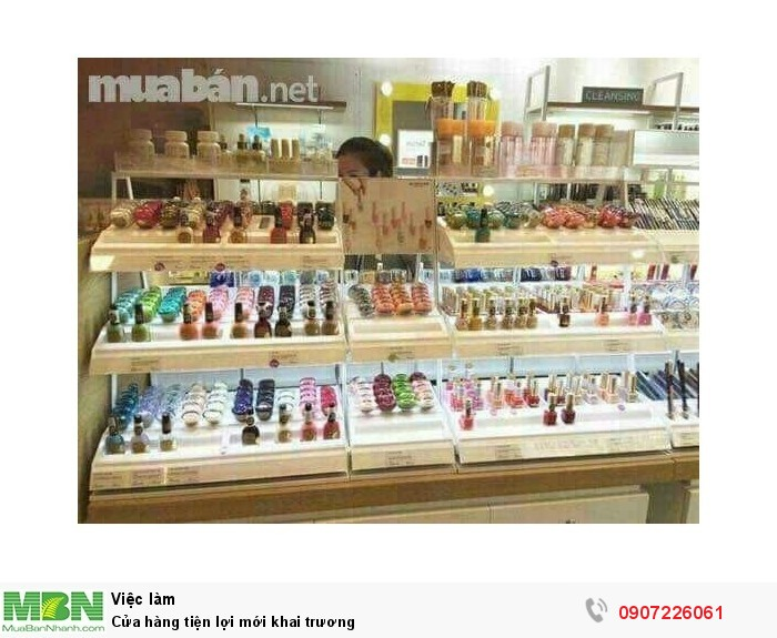 Cửa hàng tiện lợi mới khai trương