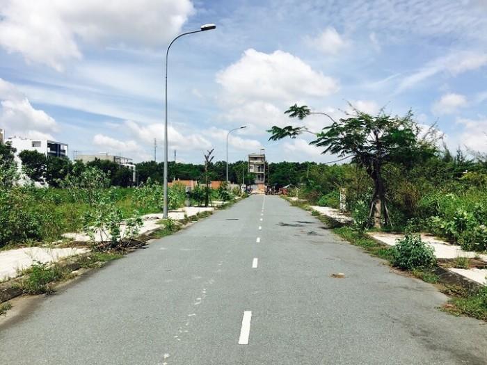 Đất nền KĐT Cát Lái MT Nguyễn Thị Định 25m chuẩn Singapore ngay TTTM, CSHT hoàn thiện 100%, SHR