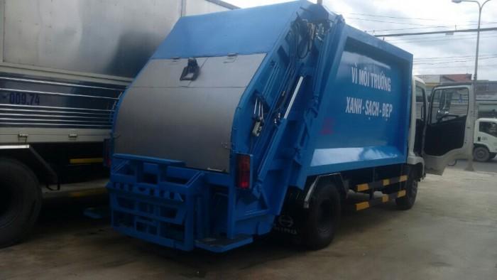 Xe ép rác HINO nhập khẩu 1
