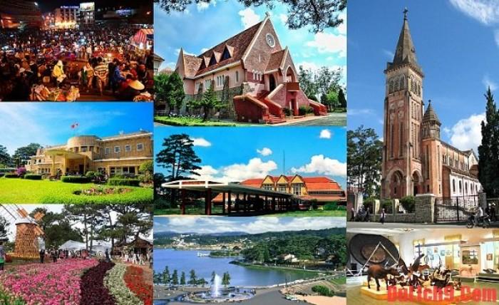 Tour Du Lịch Ninh Chữ Đà Lạt Tết Nguyên Đán 2018