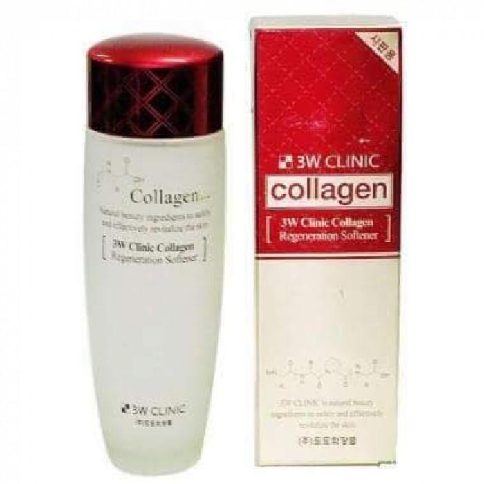 Nước hoa hồng collagen 3w clinic Regeneration Softener0