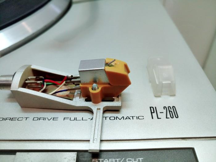 Đầu đĩa thanh Pioneer PL-260 hàng bãi3