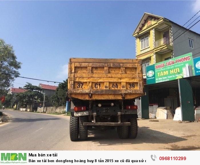 Bán xe tải ben dongfeng hoàng huy 8 tấn 2015 xe cũ đã qua sử dụng giá tốt 3