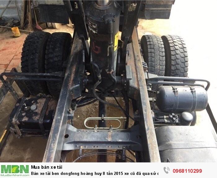 Bán xe tải ben dongfeng hoàng huy 8 tấn 2015 xe cũ đã qua sử dụng giá tốt 4