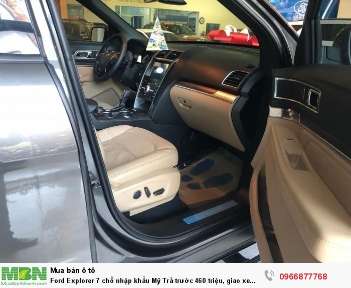 Ford Explorer 7 chỗ nhập khẩu Mỹ Trả trước 460 triệu, giao xe ngay! 5
