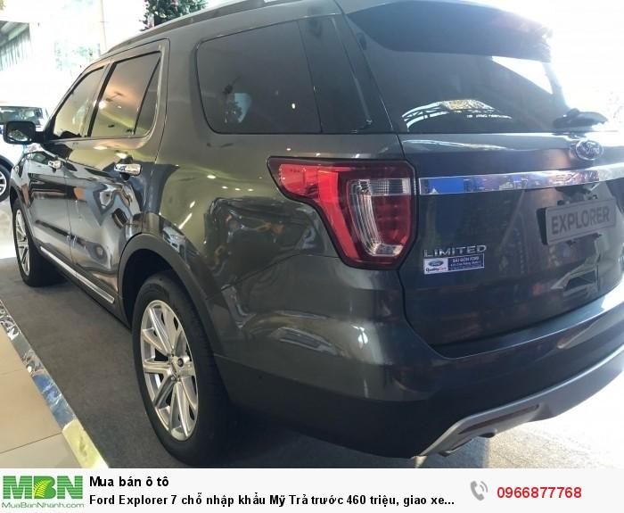 Ford Explorer 7 chỗ nhập khẩu Mỹ Trả trước 460 triệu, giao xe ngay! 6