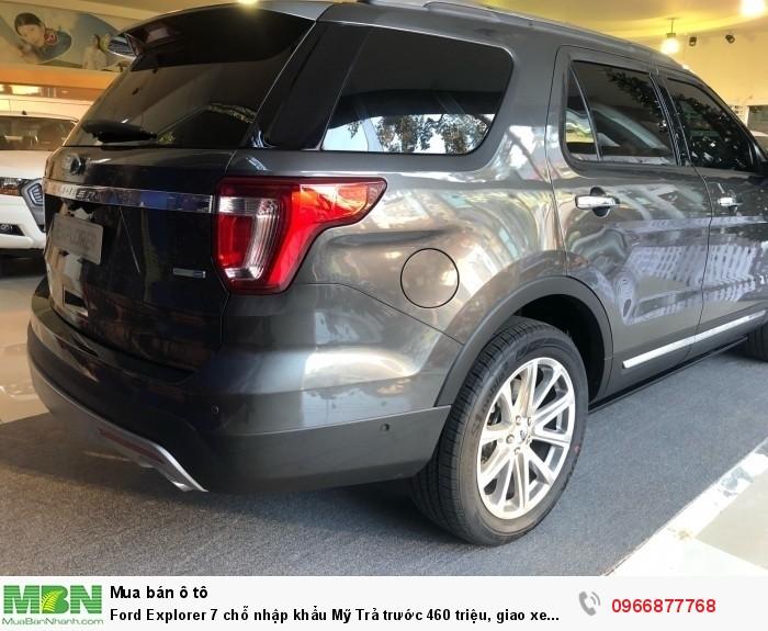 Ford Explorer 7 chỗ nhập khẩu Mỹ Trả trước 460 triệu, giao xe ngay! 7