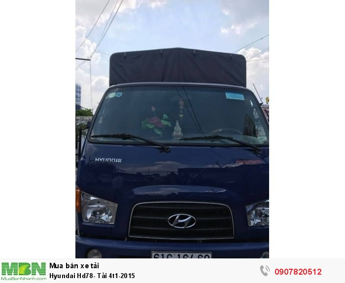 Hyundai Hd78- Tải 4t1-2015