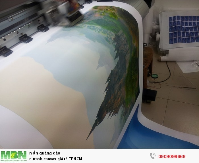 In canvas giá rẻ TPHCM, chuyên in vải bố