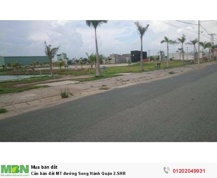 Cần bán đất MT đường Song Hành Quận 2.SHR