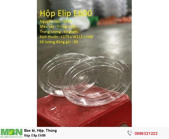 Hộp Elip E600