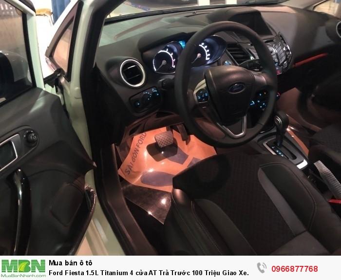 Ford Fiesta 1.5L Titanium 4 cửa AT Trả Trước 100 Triệu Giao Xe Ngay