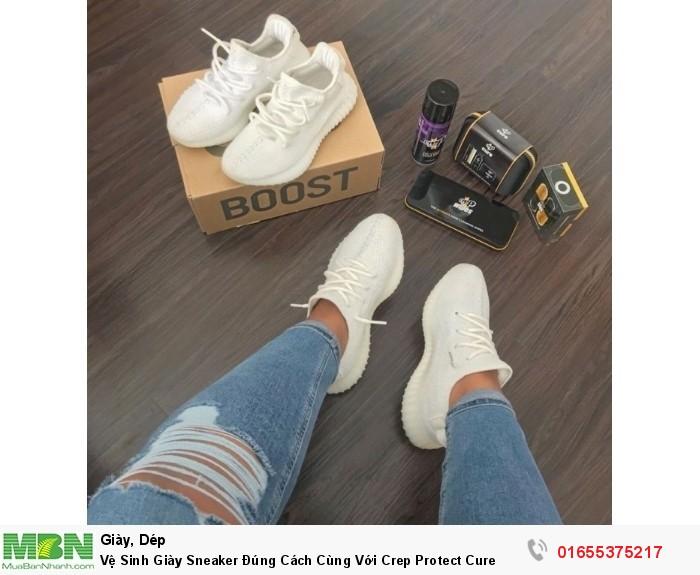 Vệ Sinh Giày Sneaker Đúng Cách Cùng Với Crep Protect Cure1