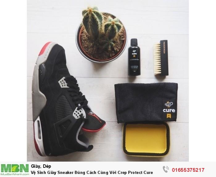 Vệ Sinh Giày Sneaker Đúng Cách Cùng Với Crep Protect Cure2