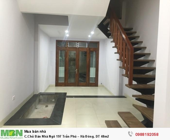 C.Chủ Bán Nhà Ngõ 197 Trần Phú – Hà Đông. DT 48m2