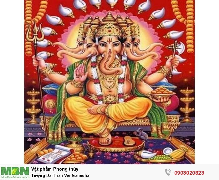 Thân voi ganesha 5 đầu trong ấn độ giáo6