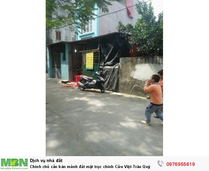 Chính chủ cần bán mảnh đất mặt trục chính Cửu Việt-Trâu Quỳ
