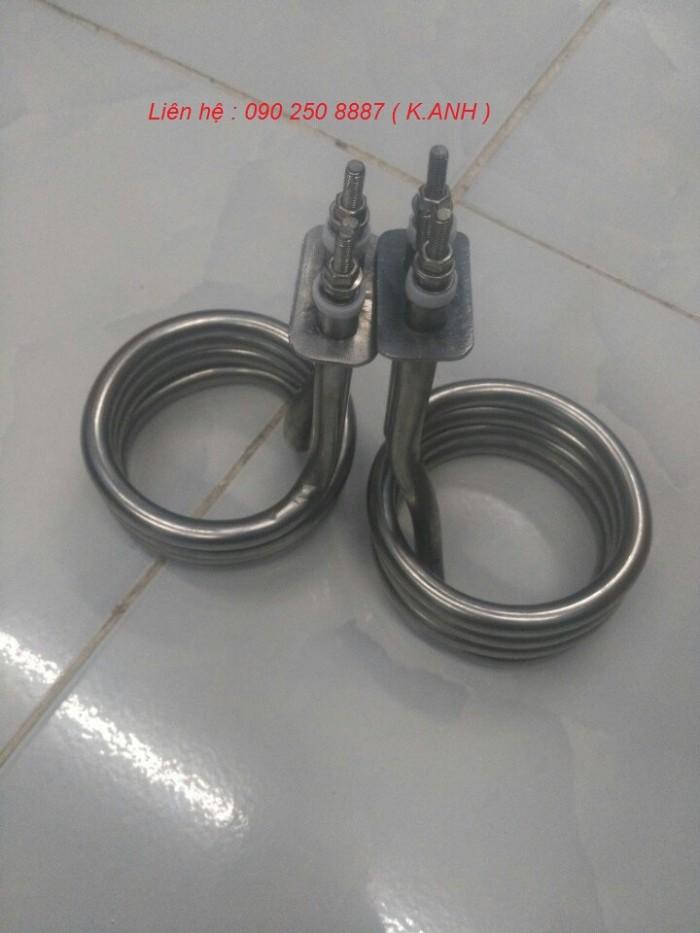 Điện trở đun nước dạng lò xo, uốn vòng theo yêu cầu2