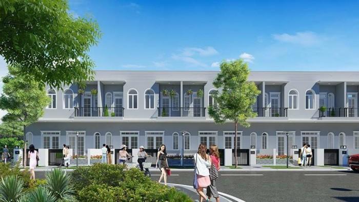 Biệt thự song lập – nhà phố liền kề chỉ 820triệu/căn ngay KĐT ven sông Trần Anh Riverside, Tây Nam Tp. HCM