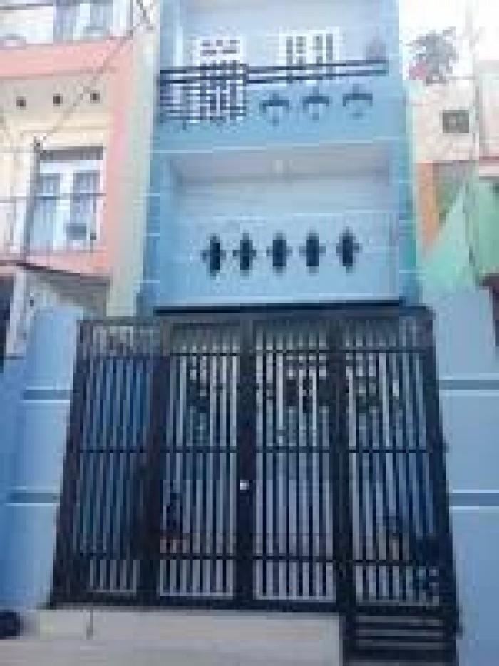 Bán gấp ngôi nhà 4x16m  1 trệt,1lửng ,1lầu