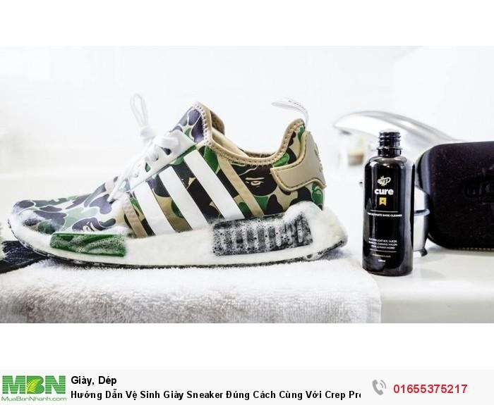 Hướng Dẫn Vệ Sinh Giày Sneaker Đúng Cách Cùng Với Crep Protect Cure0