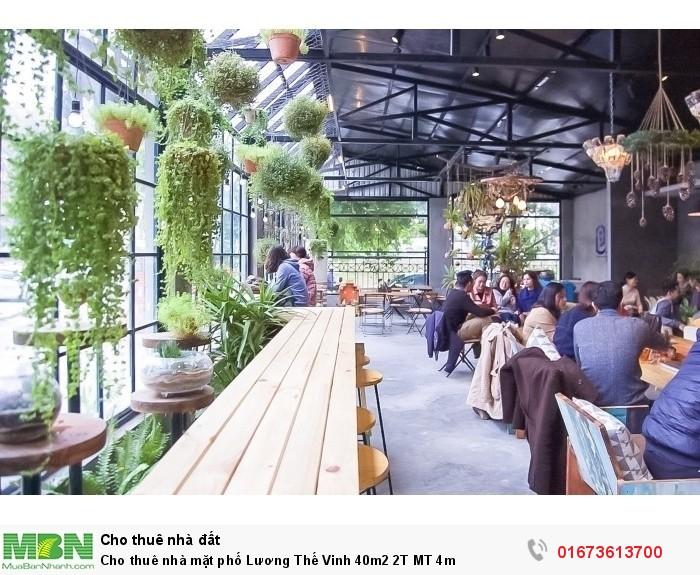 Cho thuê nhà mặt phố  Lương Thế Vinh 40m2 2T MT 4m