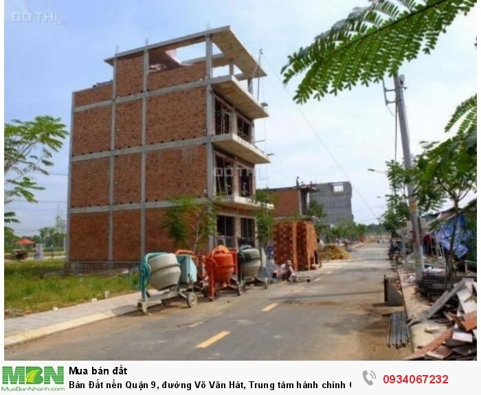 Bán Đất nền Quận 9, đường Võ Văn Hát, Trung tâm hành chính Q9