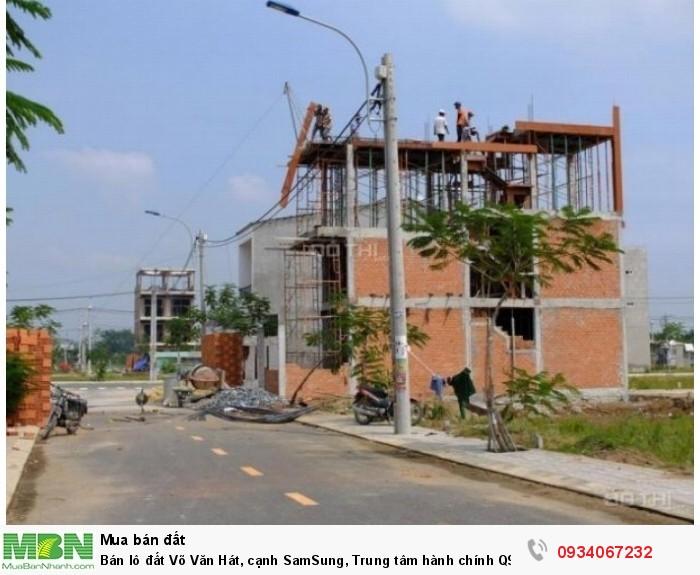 Bán lô đất Võ Văn Hát, cạnh SamSung, Trung tâm hành chính Q9, sổ riêng
