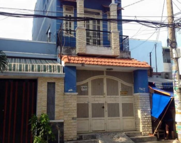 Nhà mặt tiền Lê Lâm, nhà cấp 4 tiện xây mới theo ý thích.