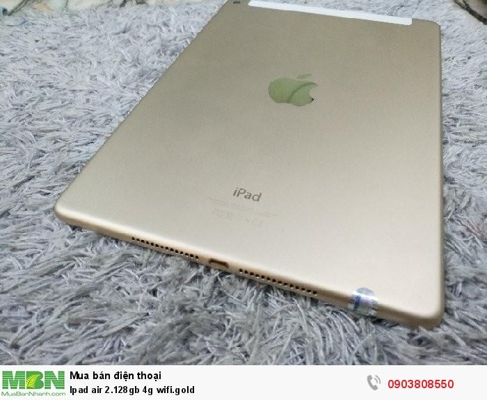 Ipad air 2.128gb 4g wifi.gold