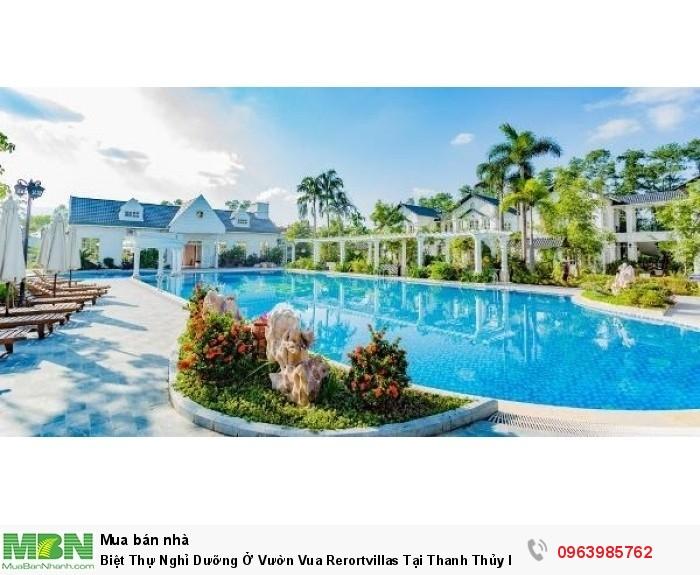 Biệt Thự Nghỉ Dưỡng Ở Vườn Vua Rerortvillas Tại Thanh Thủy Phú Thọ