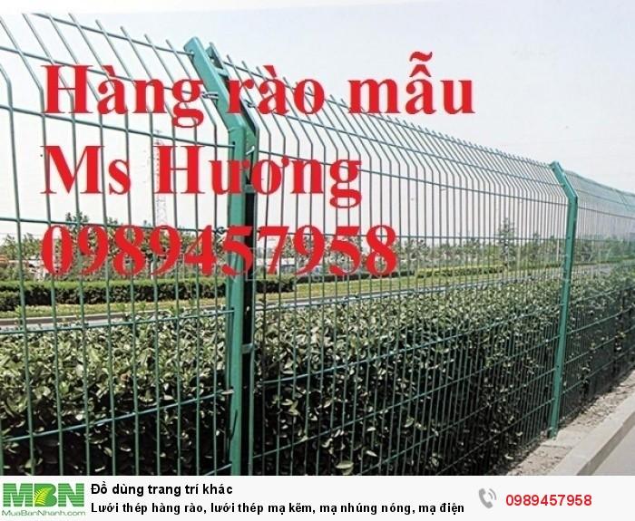 Lưới thép hàng rào, lưới thép mạ kẽm, mạ nhúng nóng, mạ điện phân... làm theo đơn đặt hàng1