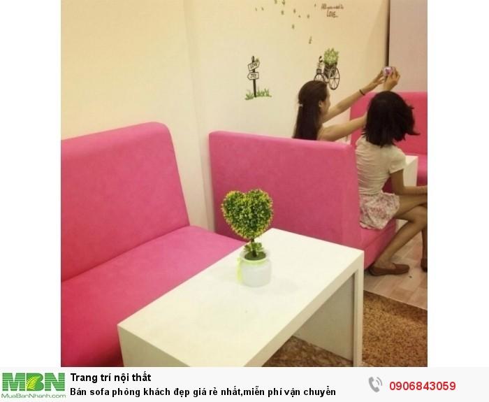 Bán sofa phòng khách đẹp giá rẻ nhất,miễn phí vận chuyển2