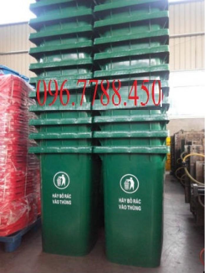 Bán xe gom rác 450l-thùng đựng rác môi trường-thùng rác đô thị.
