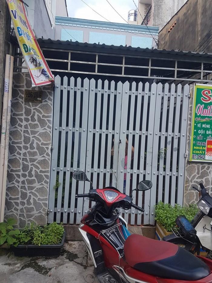 Bán nhà 3.5x19 hẻm xe hơi Đông Hưng Thuận Q12