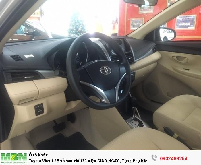 Toyota Vios 1.5E số sàn chỉ 120 triệu GIAO NGAY , Tặng Phụ Kiện, Bảo Hiểm 2 Chiều.