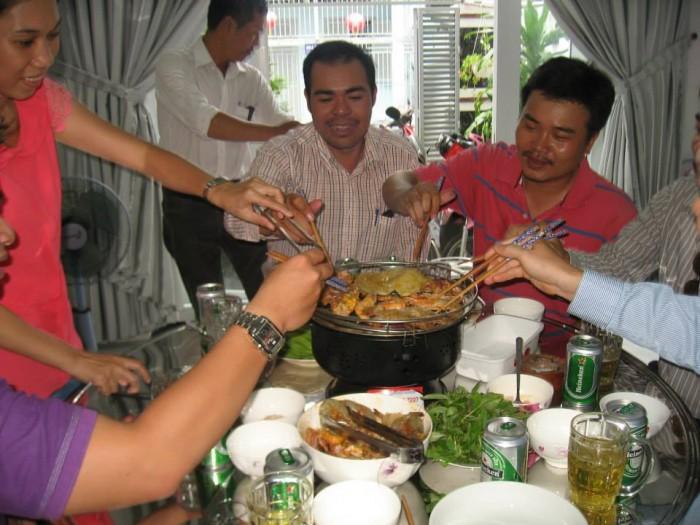 Bếp nướng không khói Nam Hồng BN300 dùng cho gia đình, nhà hàng2