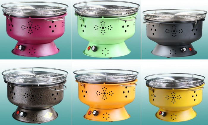 Bếp nướng không khói Nam Hồng BN300 dùng cho gia đình, nhà hàng6