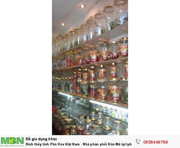 Bình thủy tinh Phú Hòa Việt Nam - Nhà phân phối Kim Mã tại tphcm3