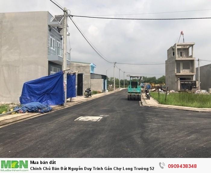 Chính Chủ Bán Đất Nguyễn Duy Trinh Gần Chợ Long Trường 52m Shr Xây Tự Do