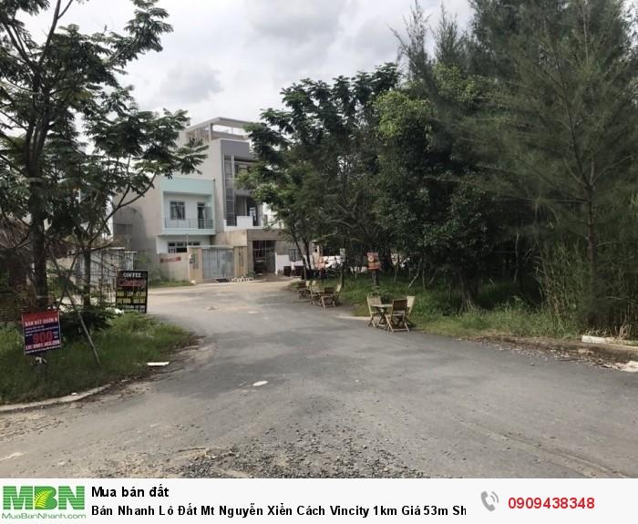 Bán Nhanh Lô Đất Mt Nguyễn Xiển Cách Vincity 1km Giá 53m Shr Xd Tự Do Thổ Cư 100%
