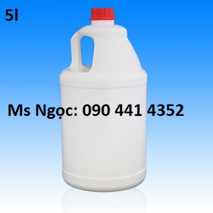 Can nhựa 1 lít - 5 lít. Mua can nhựa đựng hóa chất giá rẻ .Xả hàng cuối năm can nhựa tại tphcm