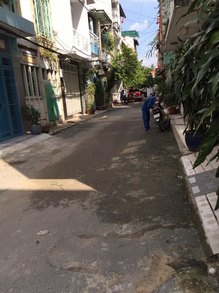 Đất 2 MT trước sau đường Phan Văn Trị, P.11, Q. Bình Thạnh, 3.5x9
