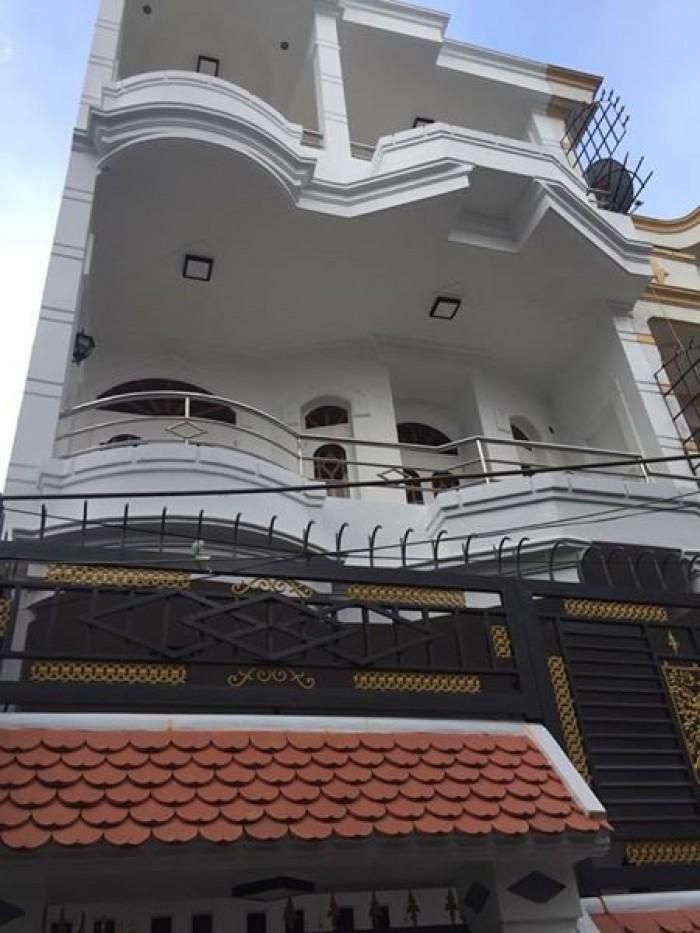 Bán Nhà HXH 8m Huỳnh Tịnh Của, DT: 5.6x9.5m, 1 Lầu, Q.3