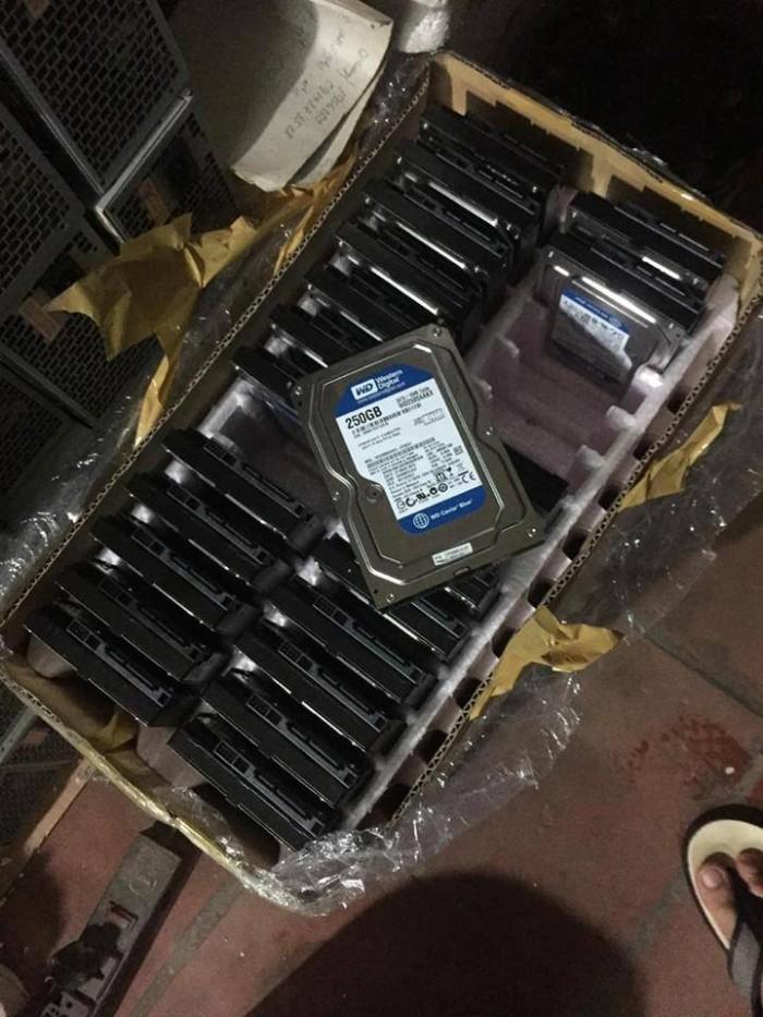 Thanh lý đk ít ổ cứng wd 250G, ổ tháo máy đồng bộ nên rất đẹp0