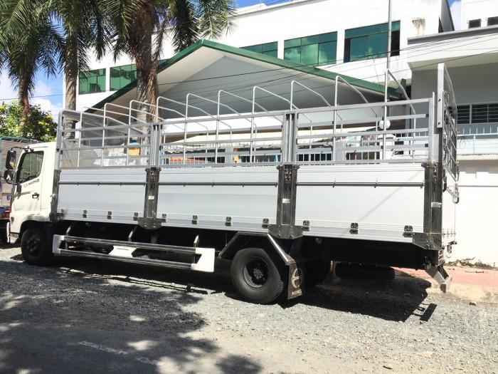 Giá xe  tải Hino FC mui bạt bửng nhôm giá tốt