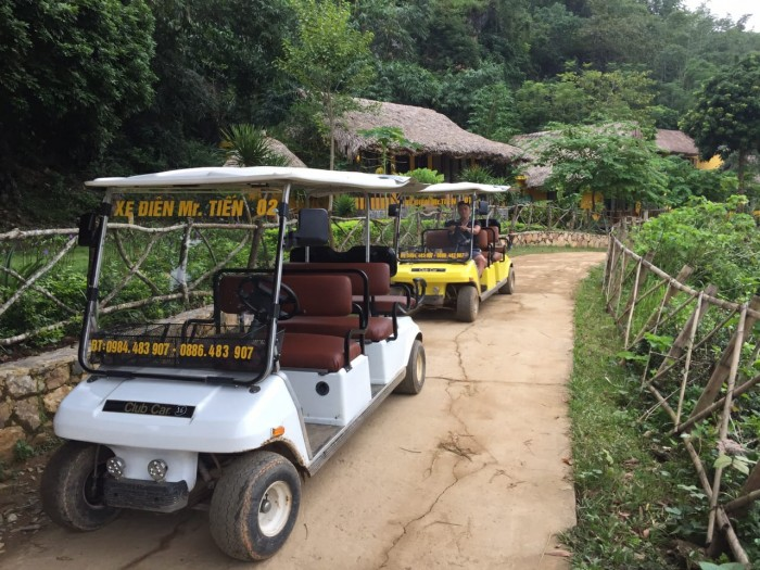 Xe điện du lịch tại Hòa Bình